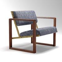 3D club chair josef albers