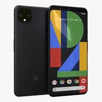 google pixel 4 xl 3D model