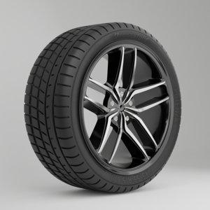 wheel disk 3D