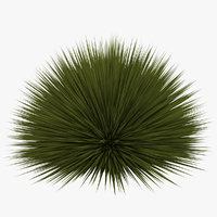 3D deer grass