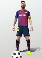 rigged Lionel Messi