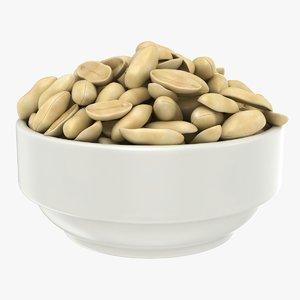 3D peanuts bowl