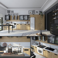 hygge kitchen 3D model