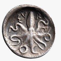 silver Litra Syracuse c460 BC