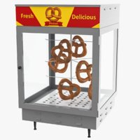 pretzel warmer display model