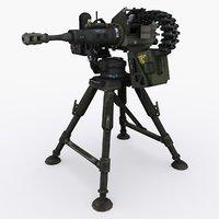 chain gun type 01 3D