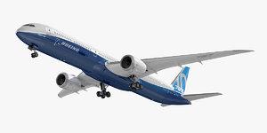 3D model boeing 787-10 dreamliner airlines