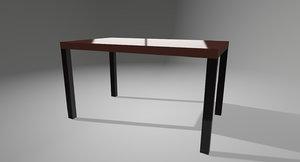 3D basic table 1inch