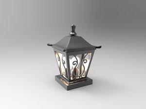 stand light 3D model