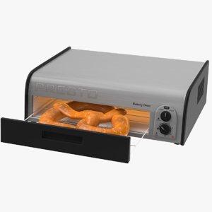 pretzel oven 3D