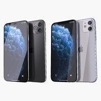 3D apple iphone 11 pro
