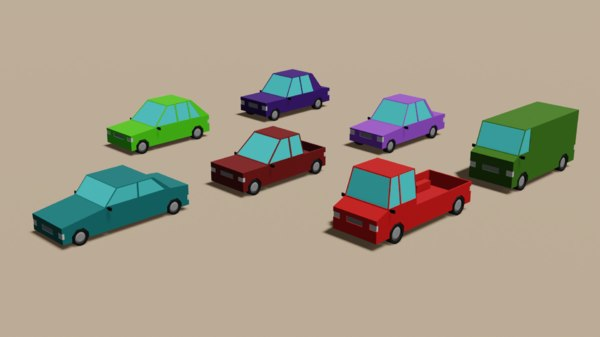 cars pack 3D