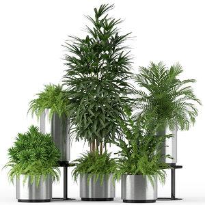 plants 206 3D model