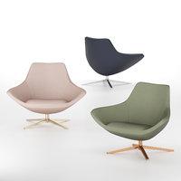3D modern armchair model
