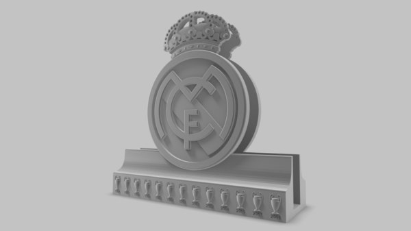 real madrid laptop stand 3D model