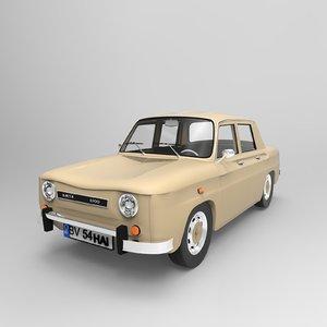 dacia 1100 car 3D model