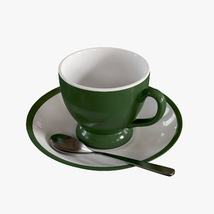 tea cup 3D model