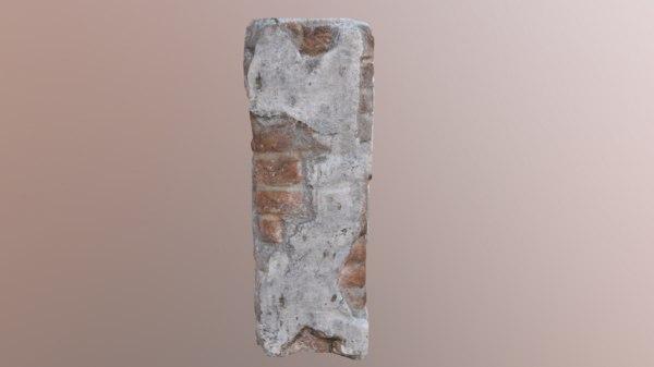 3D brick pillar