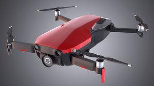 dji mavic air drone 3D model