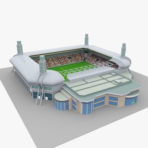 3D model al sadd stadium qatar