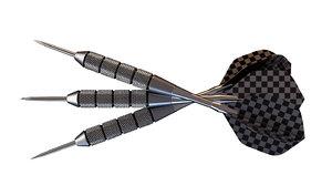 3D set darts model