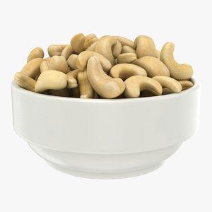 3D cashew bowl