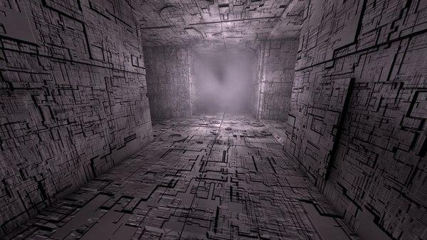 3D sci-fi shapes - escapist
