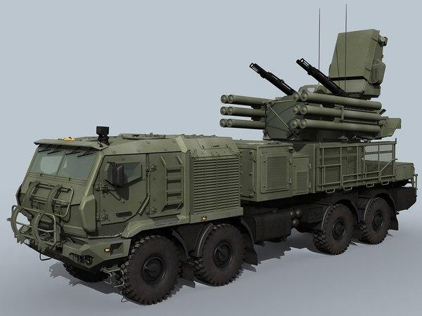 russian pantsir-sm sa-22 model