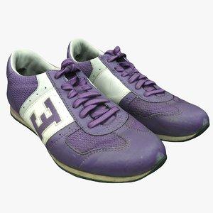3D scan sneakers