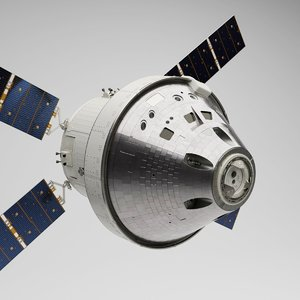 nasa orion spacecraft 3D