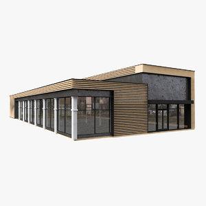 3D fast food restaurant
