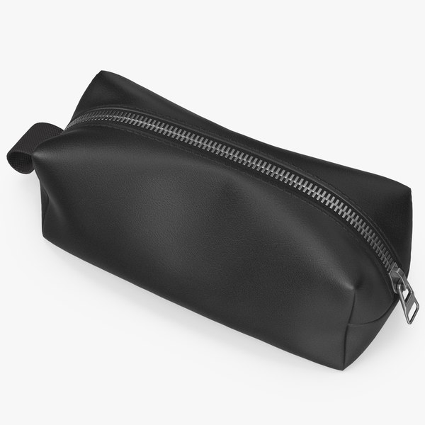 3D pouch cosmetic bag