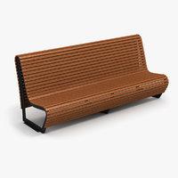 bench 2 3D model