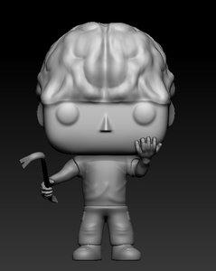 thief pop figurine model