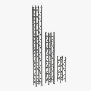 3D truss frame architecture