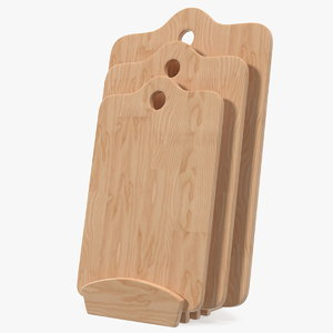 3D chopping boards set