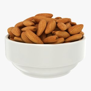 almonds bowl 3D model