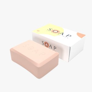 3D soap packaging