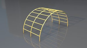 3D ornamental arch