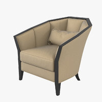 christopher guy iribe armchair 3D model