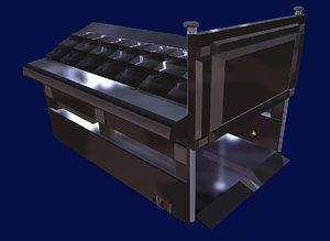 hangar military 3D model