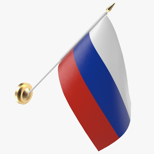 wall flag russia 3D