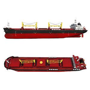3D ship bulker