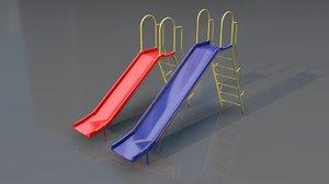 3D slide toy