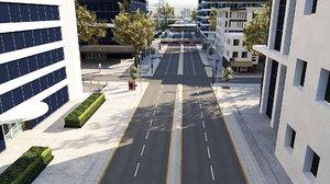 city unity 3D model