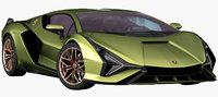 Lamborghini Sian 2020 (Opening Doors)