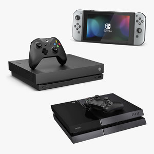 consoles gaming model