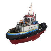 3D tugboat smith damietta tug