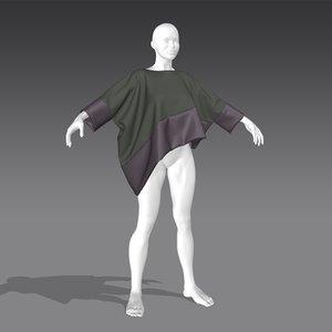 cape03 marvelous 3D