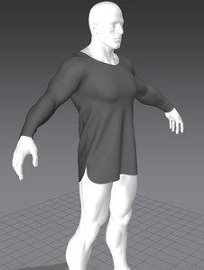 shirt marvelous 3D